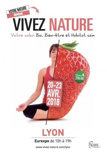 Vivez Nature : un salon bio et bien-être à Lyon du 20 au 23 avril