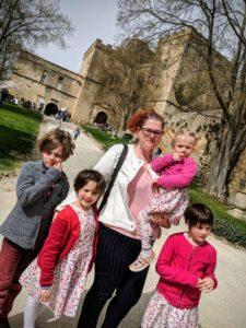 Visite du Château de la Barben en famille
