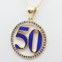 pendentif lapis lazuli en or