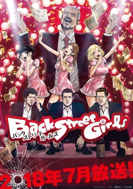 Staff annoncé pour la série animée du manga Back Street Girls