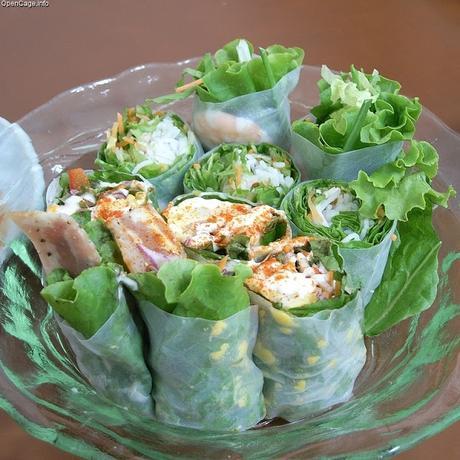 Recette de wrap salade de thon, oeufs, mayonnaise, olives noires