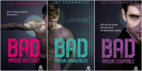 Le point sur les romans VO / VF de Jay Crownover