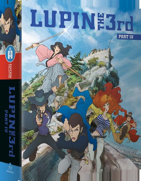 La série Lupin the 3rd Part.4 L'Aventure Italienne en Blu-ray et DVD en juin chez All the Anime