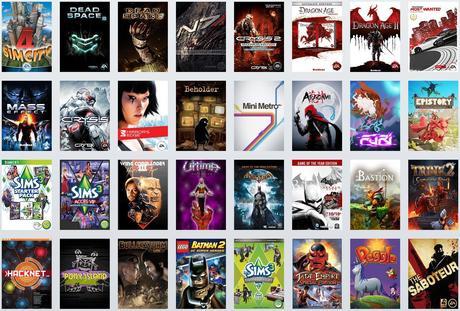 liste complète jeux origin access