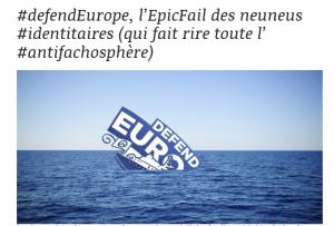 #PJLAsileImmigration : les émissaires de #Collomb ont (encore) atteint des sommets…. #GenerationBasduFront = #DefendEurope