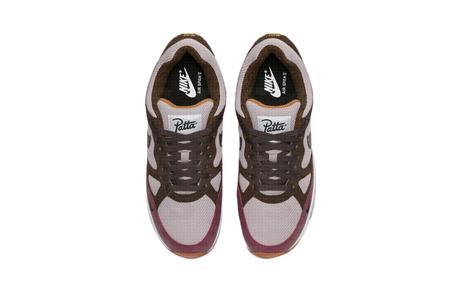 Patta x Nike Air Span II Pink Brown