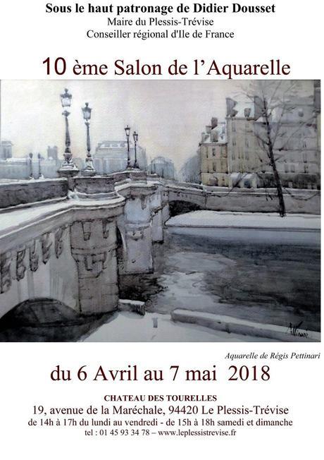 10 ème Salon de l'aquarelle du Plessis-Trévise