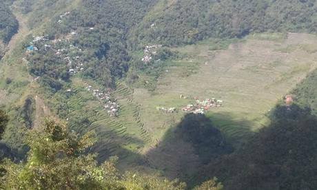 Point de vue sur Batad direction Bangann