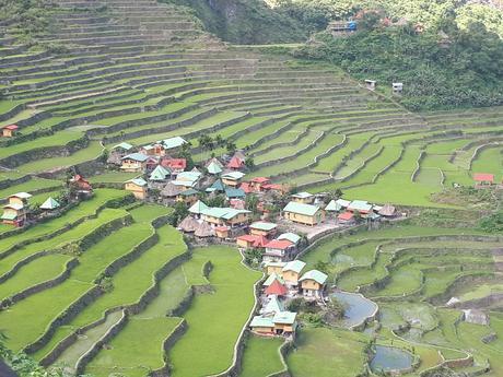 Le village et les rizières de Batad