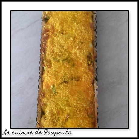 Tarte aux poireaux et à la bruccio au thermomix ou sans (sans gluten)