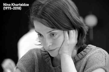 Triste nouvelle dans le monde des échecs avec la disparition prématurée de Nino Khurtsidze (1975-2018) des suites d'une longue maladie