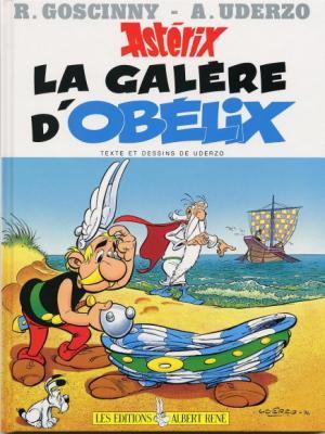 Couverture Astérix, tome 30 : La galère d'Obélix