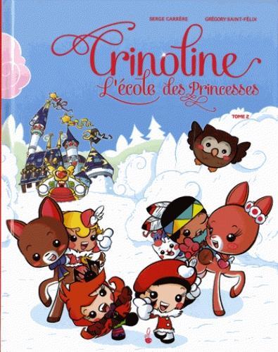 Couverture Crinoline : L'école des princesses, tome 2