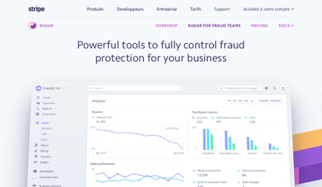 Stripe – Radar for Fraud Teams