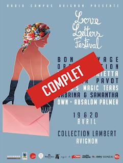 Love Letters Festival - 19/04 et 20/04  Collection Lambert (Avignon) : le debrief