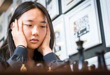 la perle des USA s'appelle Annie Wang 15 ans, leader du championnat d'échecs des Etats-Unis avec 5 points sur 6 - Photo © Saint Louis Chess Club