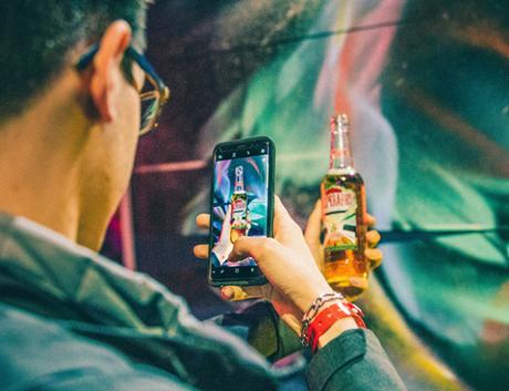 [PACKAGING] : #FUTUREEDITION une bouteille de Desperados en réalité virtuelle par Théo Lopez
