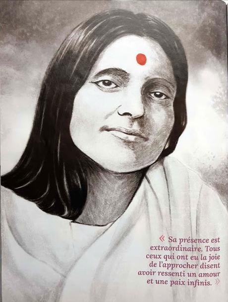Portrait de Ma Anandamayi