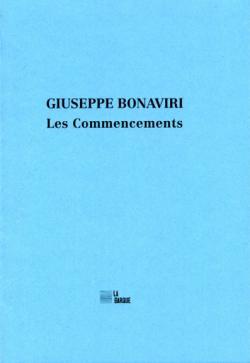 Giuseppe Bonaviri  Les Commencements 2