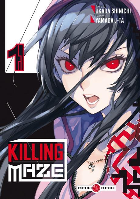 Le manga Killing Maze de J-ta YAMADA et Shinichi OKADA annoncé chez Doki-Doki