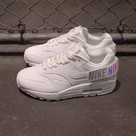 Air Max 1-100 White Patch