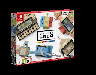Nintendo Labo : le jeu vidéo révolutionnaire ! (super cadeau)