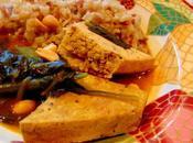 Tofu arachides verdure