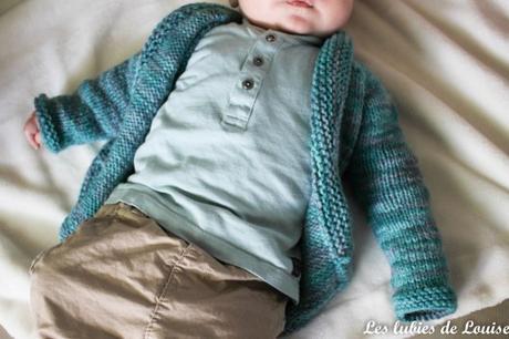 Mon petit gilet Baby Sophisticate