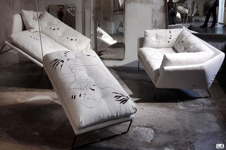 Milan Design Week Fuorisalone 2018 Antonio Marras, Saba Italia