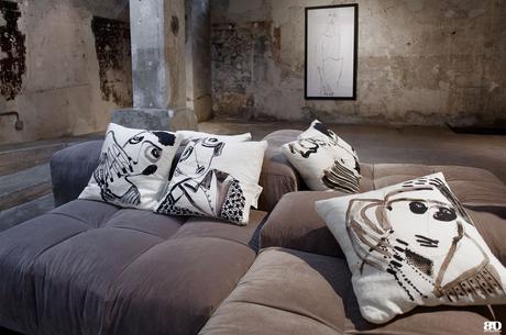 Milan Design Week Fuorisalone 2018 Antonio Marras, Fabbrica del Lino, Fantin, Kiasmo, Saba Italia et Wall et Deco