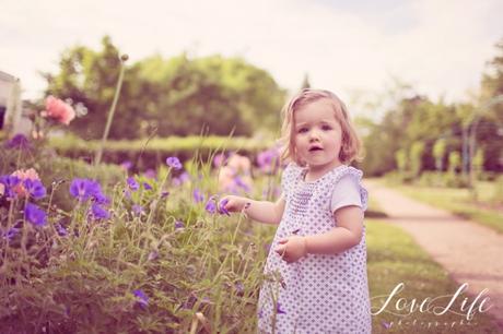séance photo bébé 1 an champetre