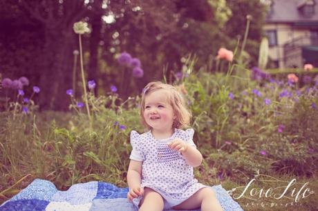 Photos bébé 1 an champêtre Courbevoie