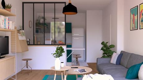 Délimiter la cuisine dans un espace ouvert