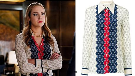 DYNASTY : Gucci shirt for Fallon in s1ep20