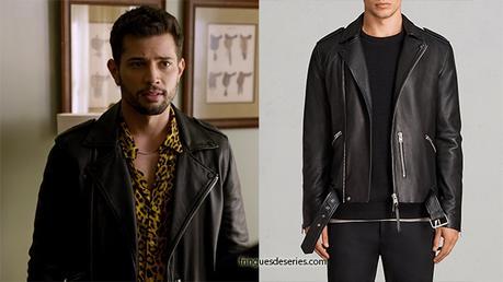 DYNASTY : Sammy Jo wearing a biker jacket in s1e20