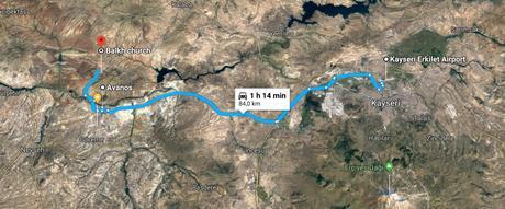 Retour en Cappadoce. La route d'Özkonak
