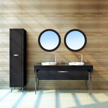 Meuble Salle De Bain 120 Double Vasque