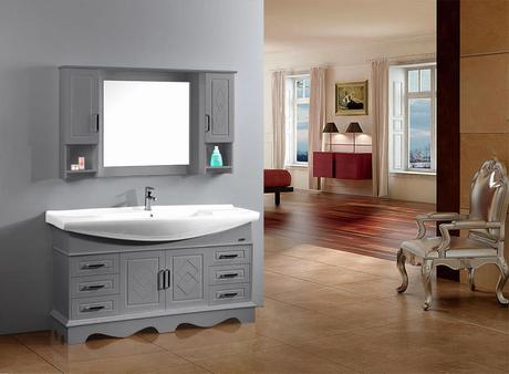 Meuble salle de bain 120 double vasque d couvrir - Meuble vasque salle de bain lapeyre ...