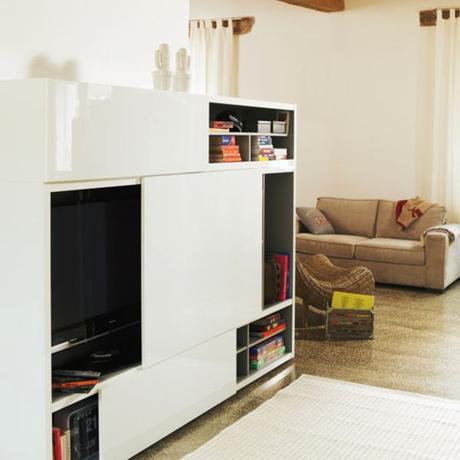 Meuble rideau coulissant cuisine paperblog - Porte rideau coulissant pour meuble ...