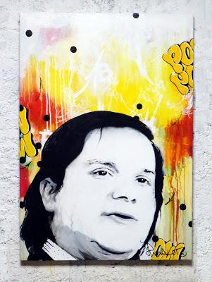 YO! MARK KARPELES. Portrait!