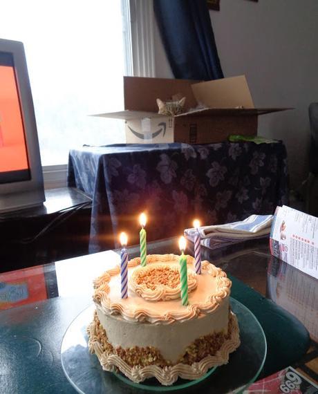 Gâteau de fête pour mon amoureux