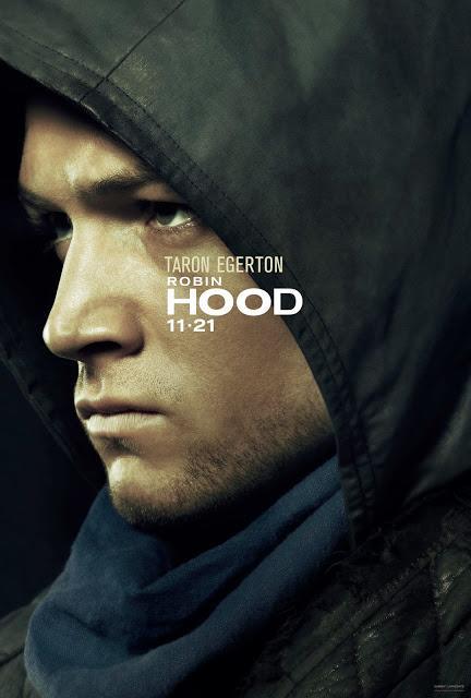 Affiches personnages US pour Robin Hood signé Otto Bathurst