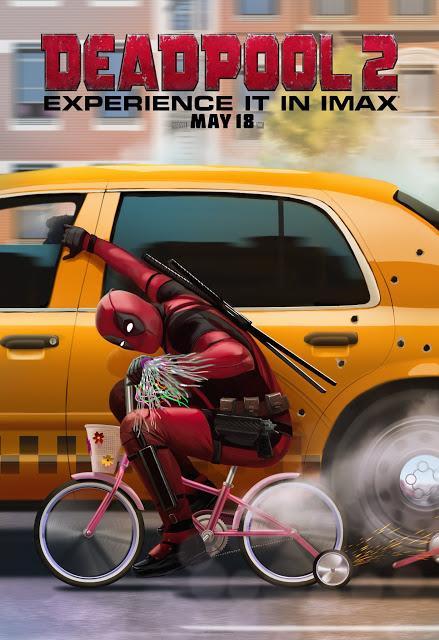 Nouvelle affiche IMAX pour Deadpool 2 signé David Leitch