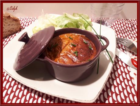 Flan de Thon à la Tomate et Ciboulette
