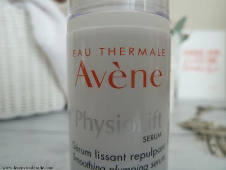 J'ai testé la dernière nouveauté Avène, le sérum lissant repulpant PhysioLift