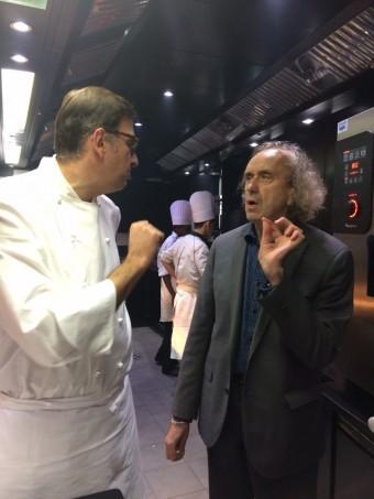 Avec jean-Denis Le Bras, la Grande Maison à Bordeaux