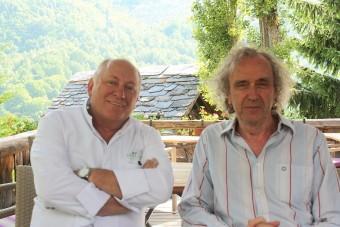 Avec René Meilleur à La Bouitte