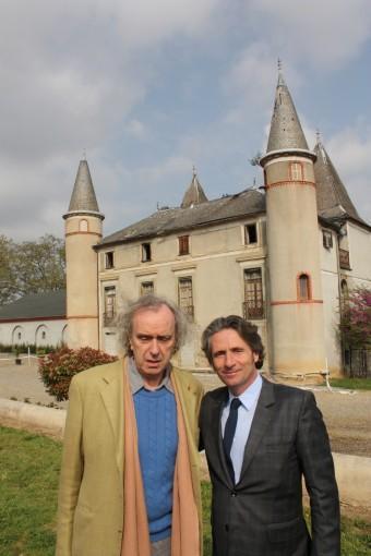 Avec le chef Gérald Passédat
