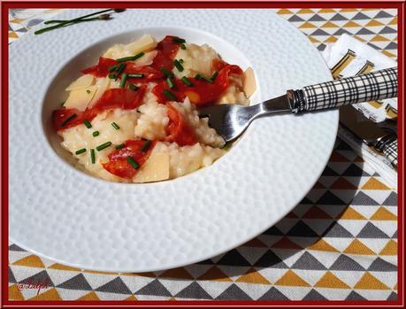 Risotto à l'artichaut et au Chorizo au Thermomix