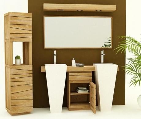 meuble salle de bain teck discount meuble salle de bain teck pas cher meuble salle de